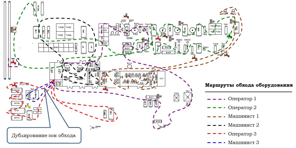Фото маршрутные карты для обходчиков о газу