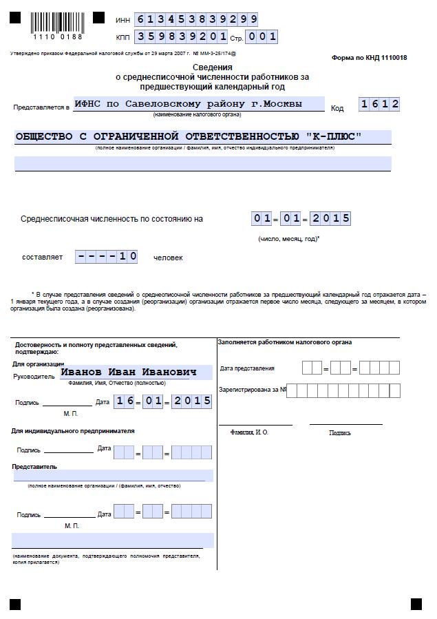 Инструкция по статистике численности работников украина